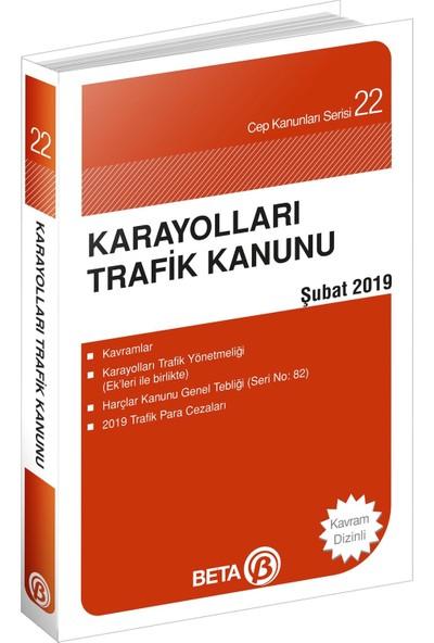 Karayolları Trafik Kanunu - Cep Kanunu Serisi