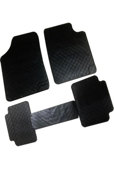 Gold Mercedes 211 Ekonomik 5 Parça Siyah Renk Diagon Kauçuk Paspas
