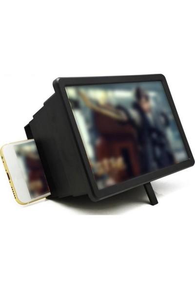 Microcase F2 Cep Telefonu Ekran Büyüteci Siyah