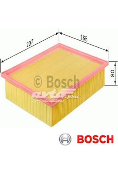 Bosch Hava Filtresi Berlingo 2 0986TF0040