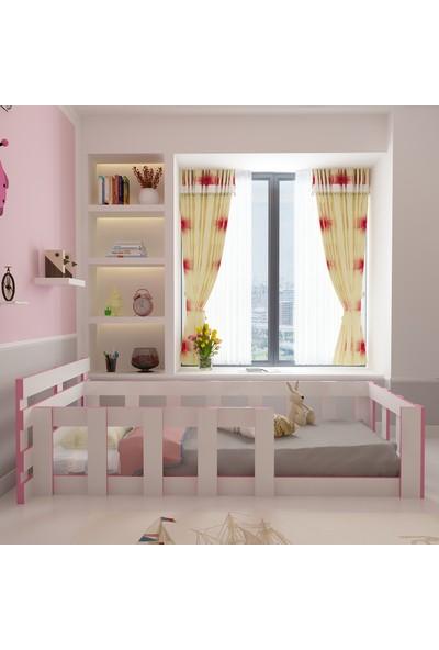 Herşeycik Y24 Elit Montessori Karyola Pembe