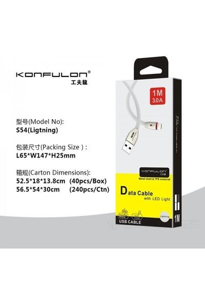 Konfulon Lightning Çinko Kablo 3.0 A 1 mt