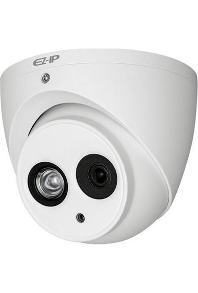 Ez-Ip Hac-T2A21-A 2Mp 3.6Mm Lens Dahili Mikrofon 50Mt Cvı Ahd Tvı Cvbs Ahd Dome Kamera