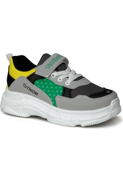 Tutinom Gri Kız Çocuk Ayakkabı