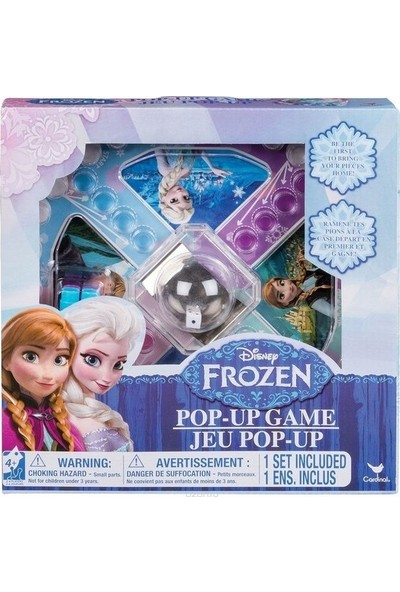 Frozen Kızma Birader Kutu Oyunu