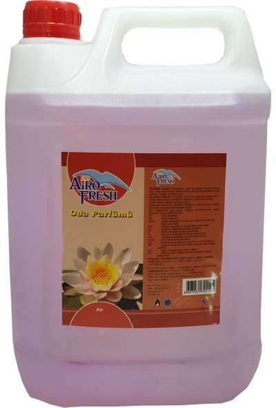 Airofresh Alkolsüz Oda Parfümü 5 lt Gizli Bahçe