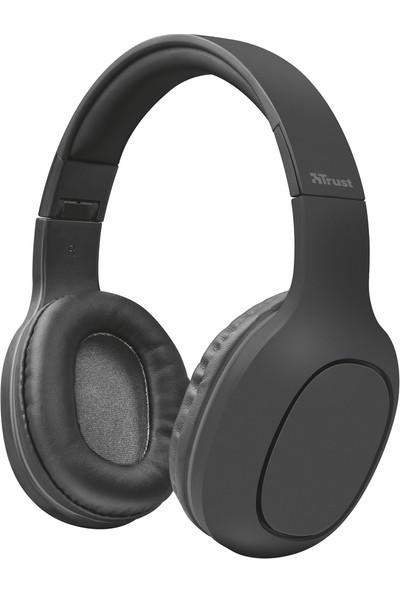 Trust 22888 Dona Kablosuz SD Kart Girişli Bluetooth Kulaküstü Kulaklık - Gri
