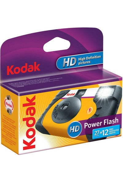 Kodak Çek At Kamera Ultra Power Flash 35Mm 27+12Exp ( Each )