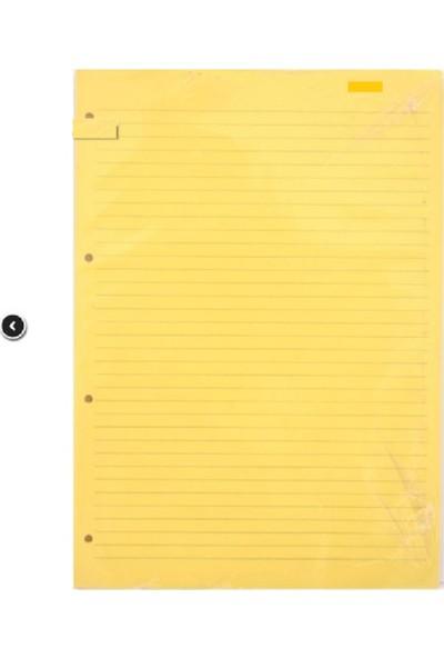 Dilman Kolej Yedeği A4 Çizgili Sarı