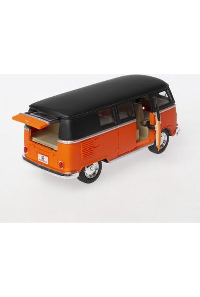 Kinsmart Vw T1 Karbon Görünümlü Kinsmart Model Araba