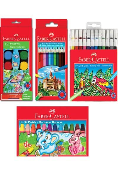 Faber Castell Öğrenci Boyama Seti