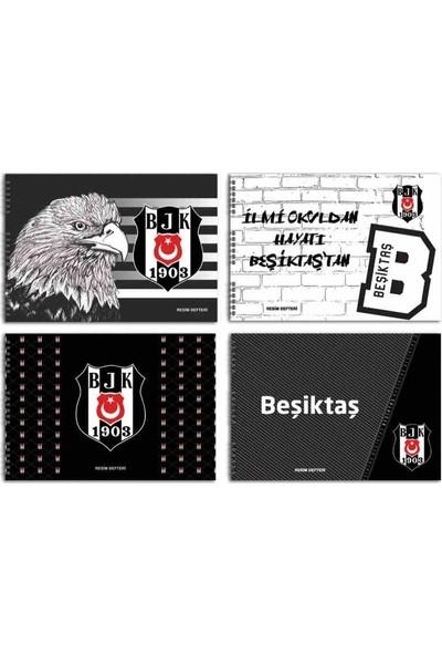 Beşiktaş 25X35 Lisanslı Resim Defteri 15 Yaprak 4Defter