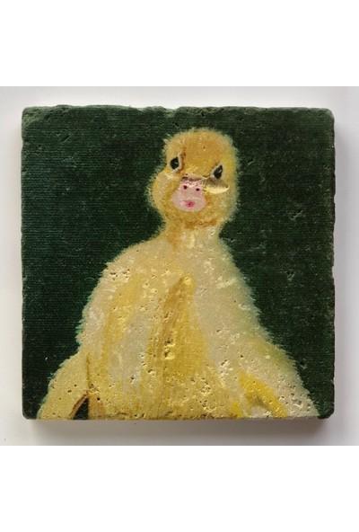 Artmuguet Macho Duckling Taş Bardak Altlığı