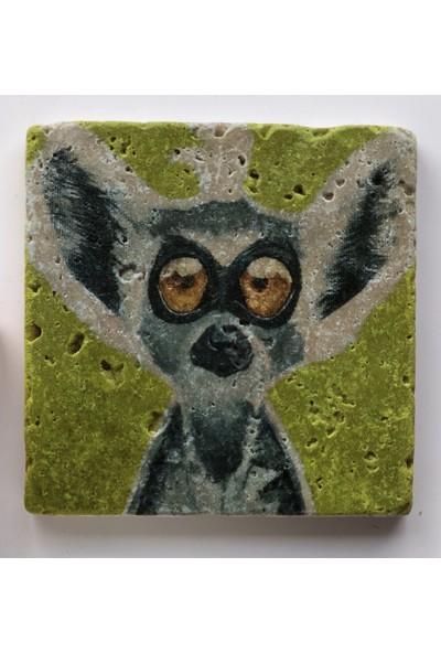 Artmuguet Lemur Or Dobby? Taş Bardak Altlığı