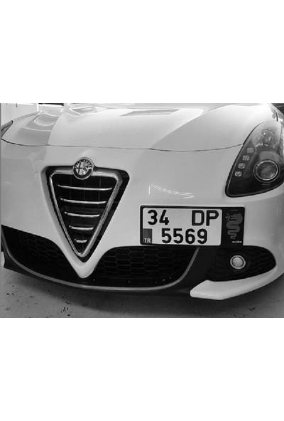 Dizayn Hediye Alfa Romeo İçin Özel Ön Plakalık