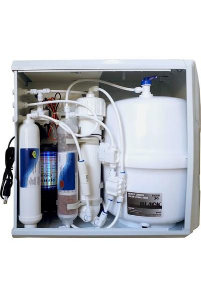 Milsuart Su Arıtma Cihazları 9 Aşama Kasalı Pompalı KP9AL