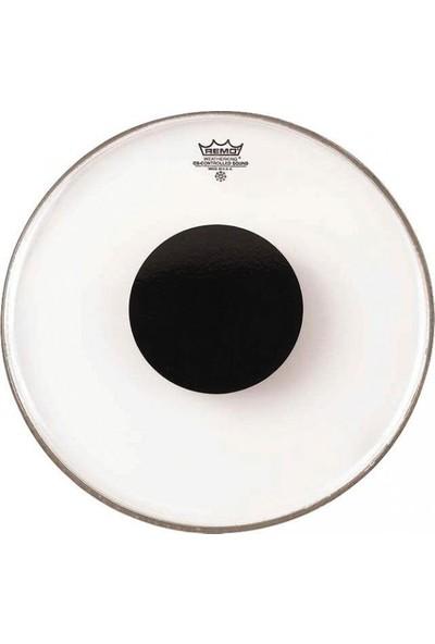 Remo Controlled Sound Clear 10 İnç Black Dot Deri