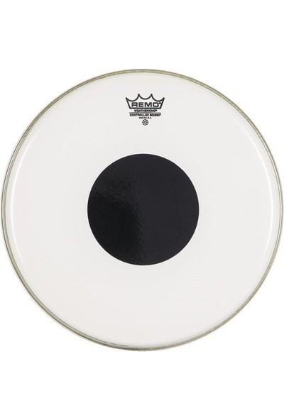 Remo Controlled Sound Clear 12 İnç Black Dot Deri