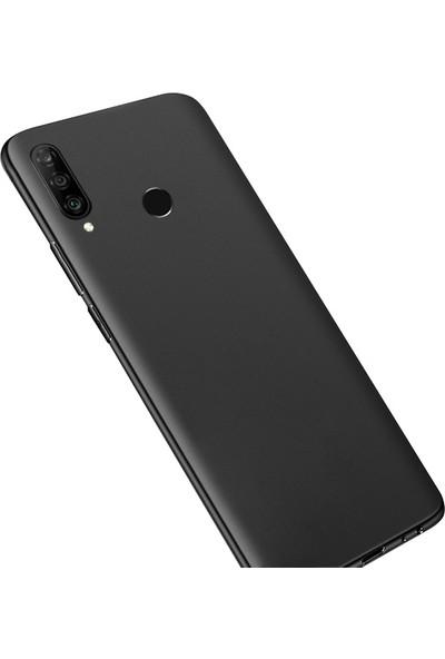 Ally Huawei P30 Lite Kamera Korumalı Fit Silikon Kılıf