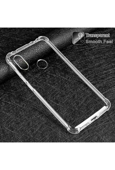 Ally Xiaomi Redmi Note 6 Pro Anti-Drop Darbe Emici Silikon Kılıf