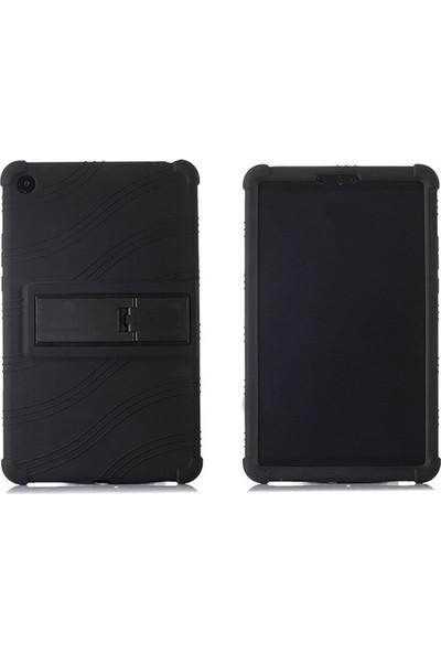 Ally Xiaomi Mi Pad 4 Ultra Koruma Standlı Silikon Kılıf