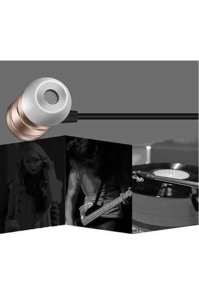 Ally Magic Saound 3.5Mm Jack Metal Piston Mikrofonlu Kulaklık