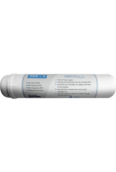 Aquaflo Su Arıtma Filtresi 12 Inch Inline Kapalı Kasa Model Filtresi