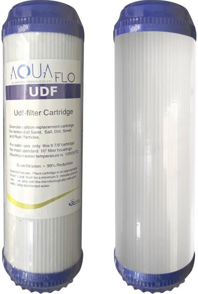 Milsuart Su Arıtma Cihazları Filtresi 5'li Gac Karbon Udf İçeren Set