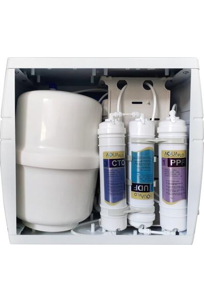 Aquaflo Su Arıtma Cihazları 9 Aşamalı Kapalı Kasa Pompasız Su Arıtma Cihazı MKNP9AL