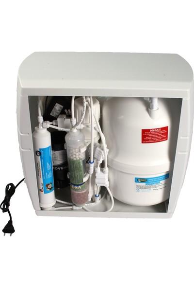 Aquaflo Su Arıtma Cihazı 9 Aşamalı Kapalı Kasa Pompalı MKP9AL