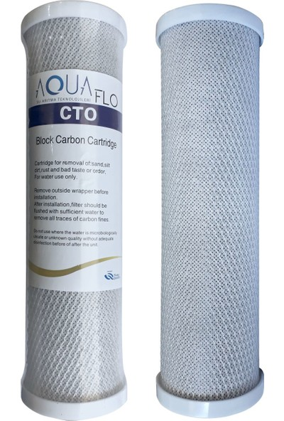 Aquaflo Su Arıtma Filtresi 7'li Filtre Takımı