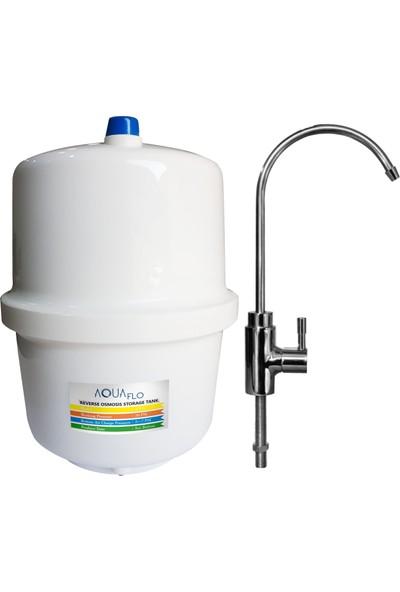 Milsuart Açık Kasa Pompasız 8 Aşamalı Su Arıtma Cihazı