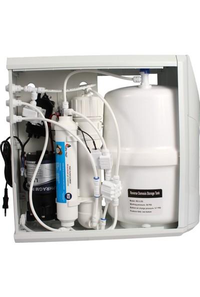 Milsuart Su Arıtma Cihazları 5 Aşama Kasalı Pompalı KP5A