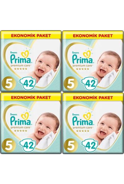 Prima Premium Care 5 Numara 42 x 4=168 Adet Bebek Bezi