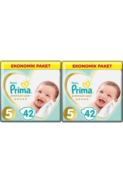 Prima Premium Care 5 Numara 42 x 2=84 Adet Bebek Bezi