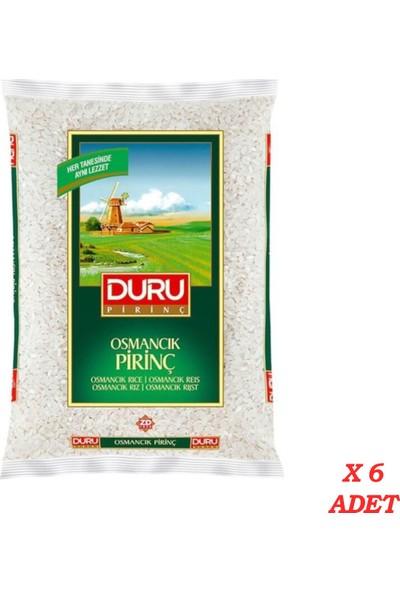 Duru Osmancık Pirinç 2,5 kg X 6' lı 15 kg