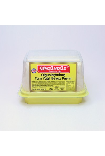 Algündüz Trakya İnek Peyniri (650-700 gr)