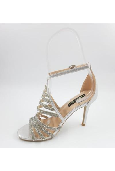 Kriste Bell Taşlı Abiye Ayakkabı