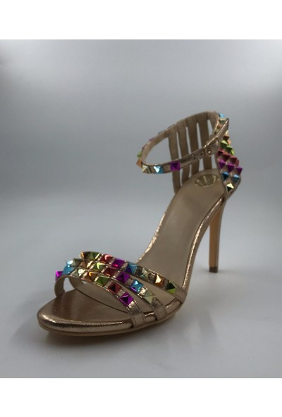 Kriste Bell Taşlı Stiletto
