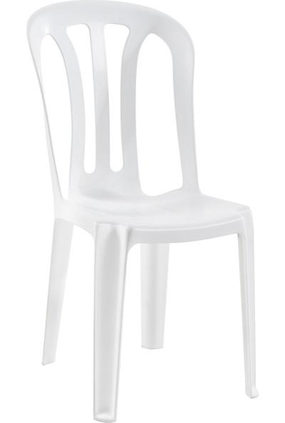 Papatya Buket Sandalye Beyaz