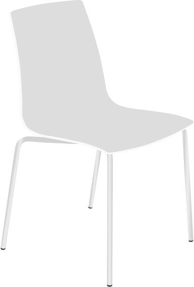 Papatya X-Treme Pro Sandalye Beyaz-Beyaz