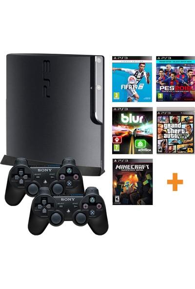 Sony Playstation 3 Yenilenmiş Oyun Konsolu 10 Adet Digital Oyun