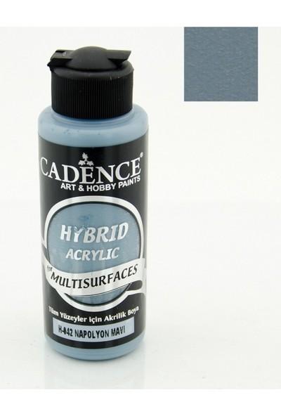 Cadence Hybrid Akrilik Multisurface Boya 120 Ml Napolyon Mavi