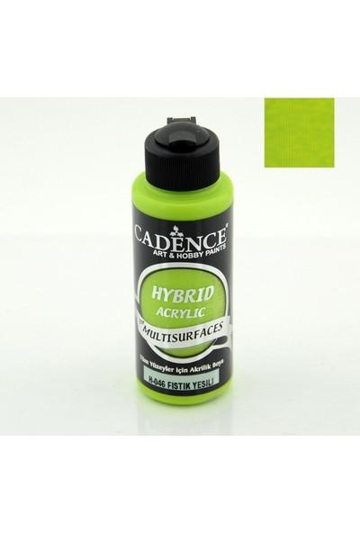 Cadence Hybrid Akrilik Multisurface Boya 120 Ml Fıstık Yeşil