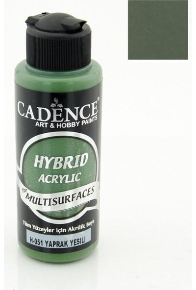 Cadence Hybrid Akrilik Multisurface Boya 120 Ml Yaprak Yeşili