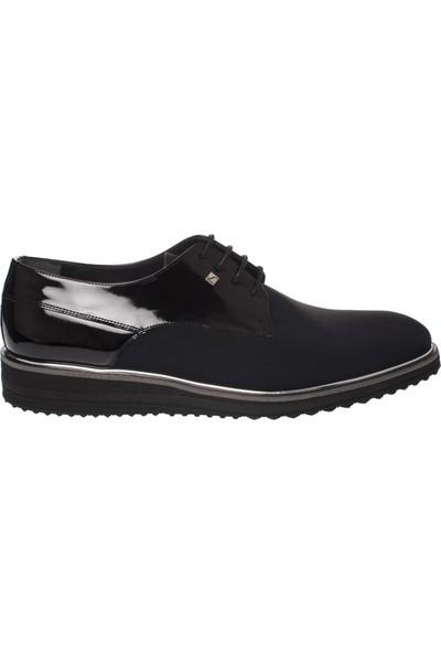 Fosco 9138 Bağlı Klasik Eva Siyah Erkek Ayakkabı