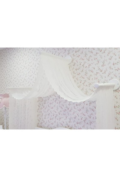 Homeart Genç Odası Butik Cibinlik Princess - 3 Çubuklu Set