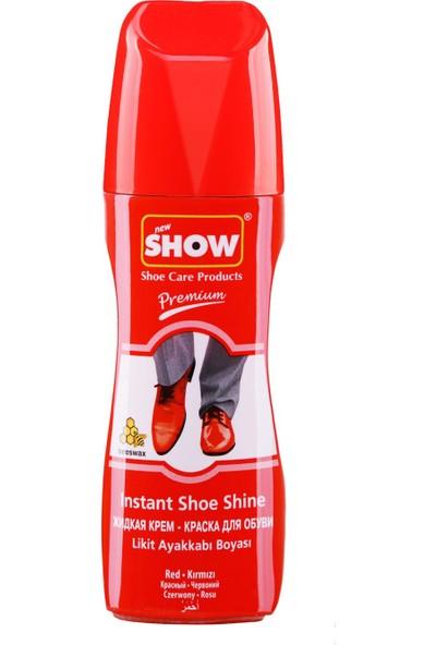 Show Likit Ayakkabı Boyası 75Ml Kırmızı