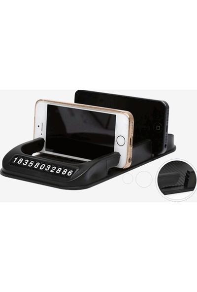 Soppigo Park Telefon Numaralı Havuzlu Telefon Tutucu
