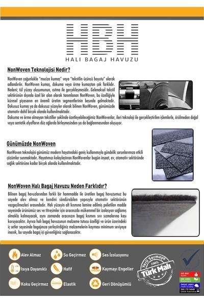 Öz-İş Bmw 3 Gran Turismo F34 Halı Bagaj Havuzu Siyah